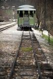 Weinlese-Zug Lizenzfreies Stockbild