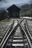 Weinlese-Zug stockfotos
