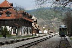 Weinlese-Zug Lizenzfreie Stockbilder