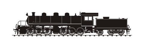 Weinlese-Zug Stockbild