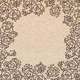 Weinlesealter Papierbeschaffenheitshintergrund Stockbilder