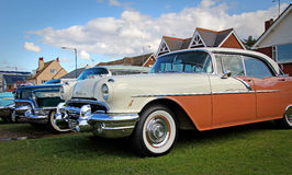 Weinleseamerikaner Pontiac Stockfoto