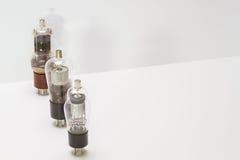 Weinleseampere-Rohre Stockfotos
