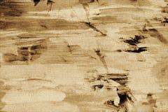 Weinleseaquarell auf gebranntem Papier mit Wachs, Hintergrund Stockfoto