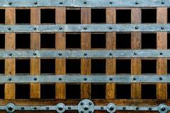 Weinleseart-Holzbeschaffenheit Stockbild