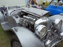 Weinleseauto Jaguars SS 100 Lizenzfreies Stockbild