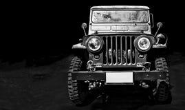 Weinleseauto Willys-Jeep Stockfoto
