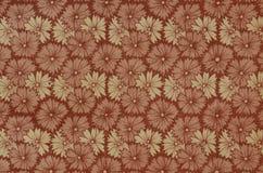 Weinlesebücherstützenpapier, Blumenhintergründe Stockbild