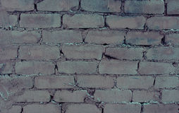Weinlesebacksteinmauer Lizenzfreie Stockbilder