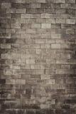 Weinlesebacksteinmauer in der Dekorationsarchitektur für das Design-BAC Lizenzfreie Stockfotografie