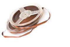 Weinlesebandspule des Magnetbands für Tonaufzeichnungen Lizenzfreie Stockfotos