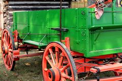 Weinlesebauernhoflastwagen Lizenzfreies Stockbild