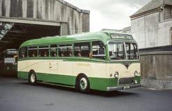 Weinlesebild des Busses in Edinburgh Lizenzfreie Stockbilder
