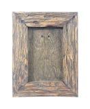 WeinleseBilderrahmen, Holz überzogen Lizenzfreies Stockbild