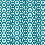 Weinleseblumen im nahtlosen Muster des Polygons Stockfotos