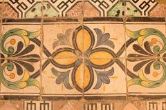 Weinlesebodenfliesen in Kathedrale Sans Pantaleone, Ravello, Italien Lizenzfreie Stockfotos