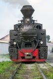 Weinlesedampf-Zuglokomotive Stockbild