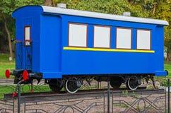 Weinleseeisenbahnwagen Lizenzfreies Stockfoto