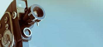 Weinleseentfernungsmesserkamera getrennt über Weiß Stockfotos