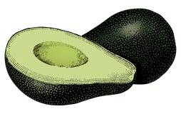 Weinlesefünfziger jahre Avocado Lizenzfreie Stockbilder