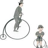 Weinlesefahrräder lizenzfreies stockbild