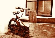 Weinlesefahrrad Stockfoto
