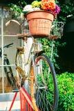 Weinlesefahrrad Lizenzfreie Stockbilder