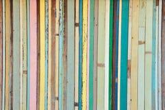 Weinlesefarben-Holzhintergrund Lizenzfreie Stockfotos