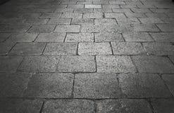 Weinlesefelsenboden auf königlicher Straße Lizenzfreies Stockfoto