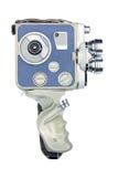 Weinlesefilmkamera mit Griff Stockbilder