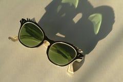 Weinlesefünfziger jahre Sonnenbrille Lizenzfreie Stockfotos