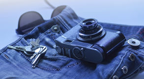 Weinlesefoto Lizenzfreies Stockfoto