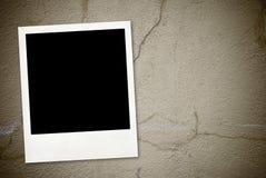 Weinlesefoto auf grunge Hintergrund Lizenzfreies Stockfoto