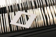 Weinlesefoto-Diarahmen Lizenzfreies Stockbild