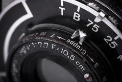 Weinlesefoto-Kameradetail Stockbilder