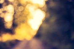 Weinlesefoto von Farbnatur bokeh Hintergrund Lizenzfreies Stockfoto