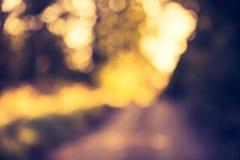 Weinlesefoto von Farbnatur bokeh Hintergrund Stockbilder