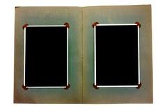 Weinlesefotoalbum Lizenzfreies Stockbild
