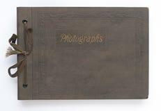 Weinlesefotoalbum Lizenzfreie Stockfotografie