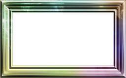 Weinlesefotofeld mit noblen Mustern Lizenzfreie Stockbilder
