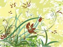 Weinlesefrühlingsblumen Stockfoto