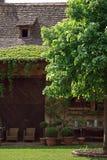 Weinlesegarten lizenzfreie stockfotografie