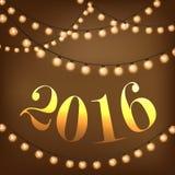 Weinlesegirlanden 2016 Stockfotos