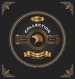 Weinlesegold-Reihe CD-Hülle Lizenzfreie Stockfotografie
