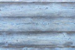 Weinlesehintergrund bestanden aus Planken der blauen Farbe lizenzfreie stockfotografie