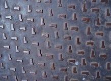 Weinlesehintergrund der Metalldiamantplatte Stockbild