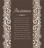 Weinlesehintergrund für Einladungen Stockbilder