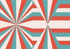 Weinlesehintergrund-Geometriedesign Stockbild