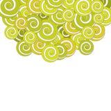 Weinlesehintergrund mit Pastellblumen Lizenzfreie Stockbilder