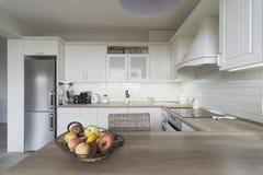 Weinlesekücheneinzelteile, Verzierungen und Küchendetails in der klassischen Art Lizenzfreie Stockbilder